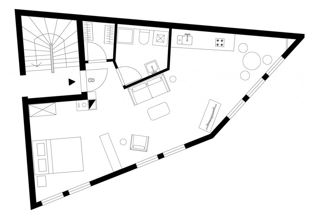 Schildcheneck Apartment 108