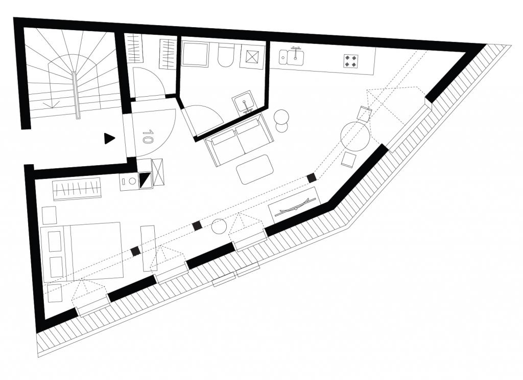 Schildcheneck Apartment 110